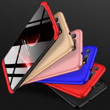 Cover Huawei Honor V20 Case 360-degree full package shell hard PC Shell Hard Back Phone for