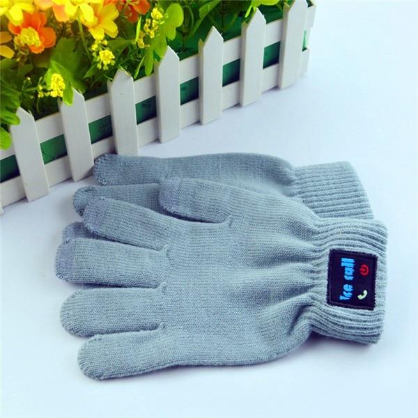 цена на Winter cashmere pom pom beanie hats wholesale bluetooth gloves 1