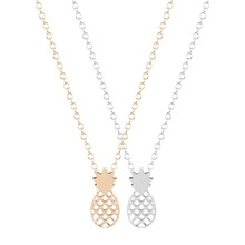 ФОТО 2015 new style hot fashion pineapple fruit necklace unique pendant necklace minimalist jewelry gift for girls and ladies