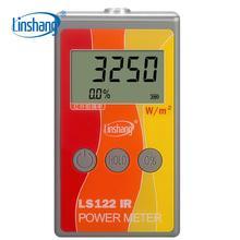 LS122 Linshang Ручной ИК измеритель мощности тест инфракрасная интенсивность яркость с ИК отторжение теплоизоляция скорость от 1000-1700nm