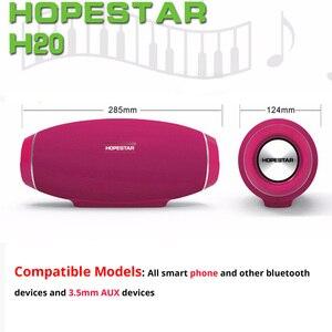 Image 4 - Hopestar H20 נייד Bluetooth רמקול עמיד למים mp3 מוסיקה טור אלחוטי 30 W מחשב טלוויזיה קול בר תיבת סטריאו סאב עבור xiaomi