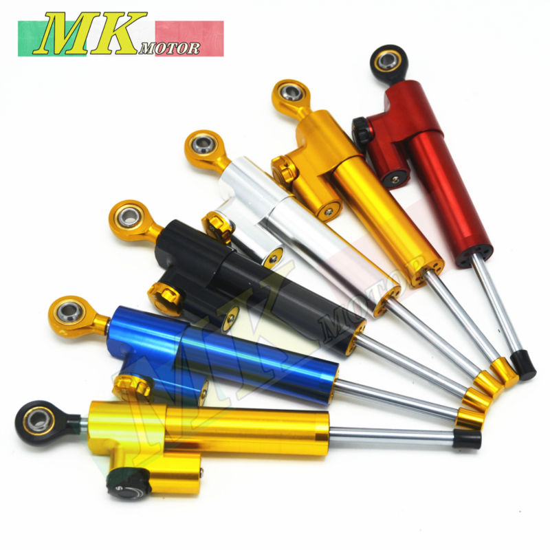 ФОТО Motorcycle Adjustable Steering Damper Stabilizer for Yamaha YZF 600 1000 R1 R6 BMW R1200 CL GS DUCATI Monster 696 796 795 848