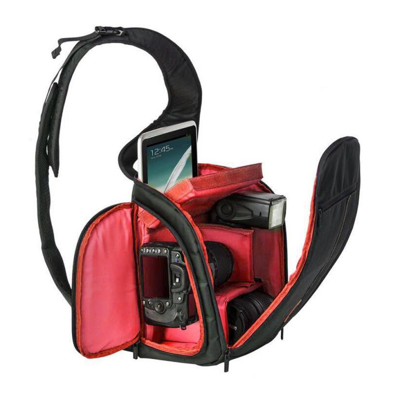 Quality Guarantee 260x300x180 mm New Camera Backpack Bag Waterproof DSLR Case for Canon for Nikon for Sony