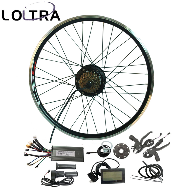 E Bike Conversion Kit 36v 250w Electric Bicycle Motor Set For 20inch 29inch 700c