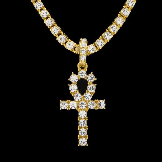 Мужское ожерелье в стиле хип хоп цепочка с длинными блестящими