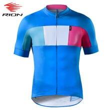 RION-Camiseta de manga corta de ciclismo para hombre, camiseta transpirable de Ciclismo de equipo profesional para descenso, camiseta de bicicleta de carretera