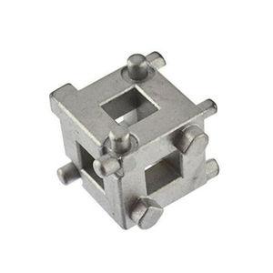 """Image 1 - Outil de Cube denlèvement détrier de retour de vent de Piston de frein à disque dentraînement de 3/8 """"pour des véhicules avec 4 freins à disque de roue"""