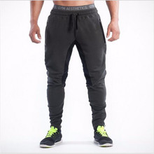 2016 NEW BE pants Cotton Men's gasp exercise health gymshark Pants informal sweatpants jogger pants males skinny trousers