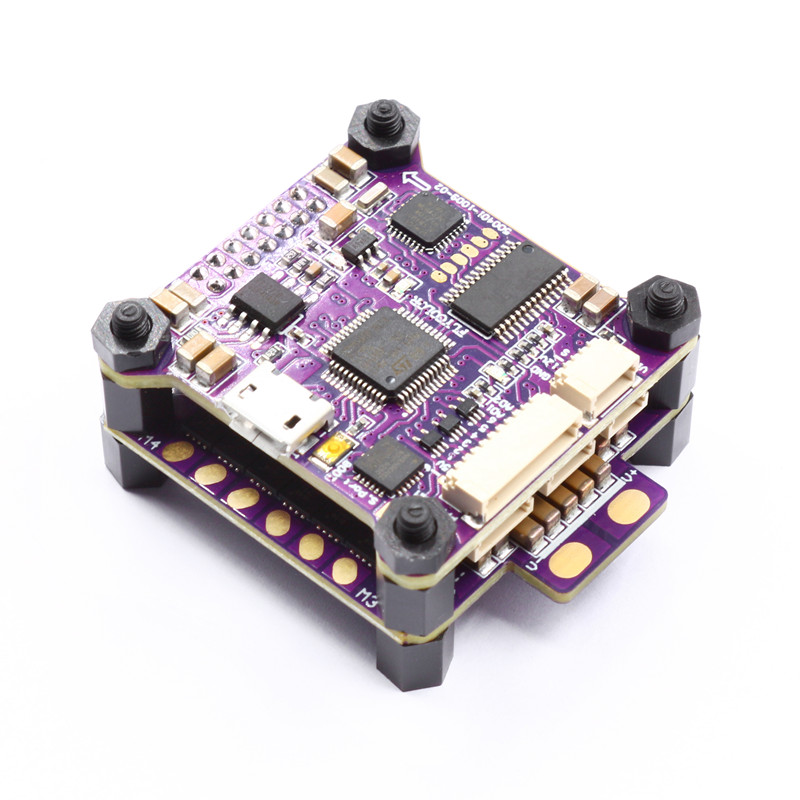 Flycolor 30.5x30.5mm Raptor S-Tower F4 OSD Flight Controller 40A BL_S DShot600 ESC For RC Models Racing Drone PartsFlycolor 30.5x30.5mm Raptor S-Tower F4 OSD Flight Controller 40A BL_S DShot600 ESC For RC Models Racing Drone Parts