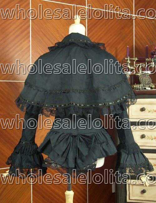 Blouse Chemise Terrible Coton Top Costume Théâtrale Victorien Steampunk Cape Gothique Noir Penny Vêtements Edwardian YFwIT1z