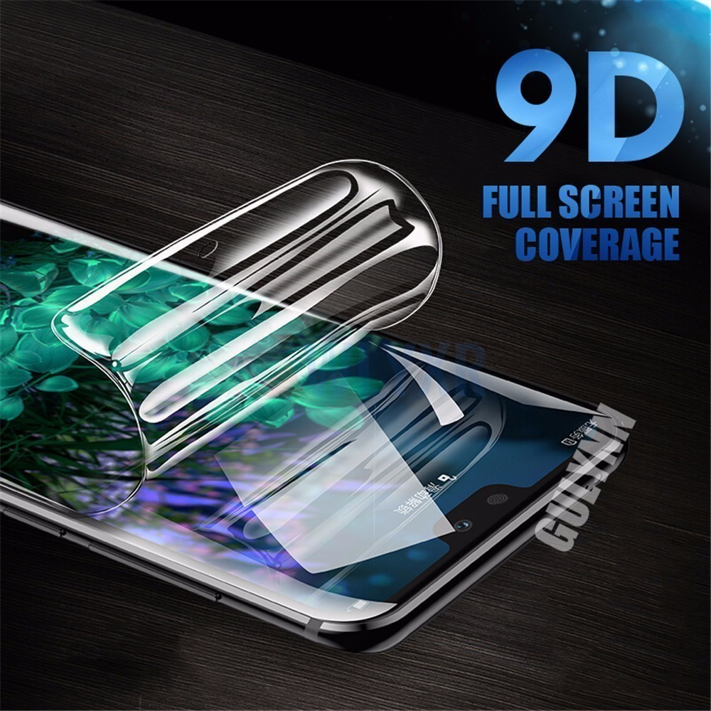 Curved Full Cover Screen Protector For Huawei Honor 20 10 i 8X Pro Lite Protective Film For HUAWEI Nova 3E 4E 5 5i 3 Soft Film in Phone Screen Protectors from Cellphones Telecommunications
