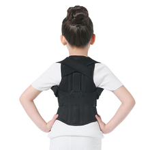 JORZILANO Professional Children Adjustable Back Chest Support Belt Posture Corrector Therapy Shoulder Brace Correcting hunchback