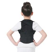 JORZILANO Professional Children Adjustable Back Chest Support Belt Posture Corrector Therapy Shoulder Brace Correcting hunchback