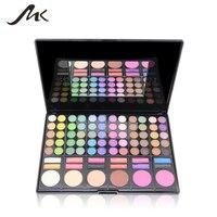 MK Professional 78 Nude Color Smoky Eyeshadow Palette Set Make Up Pallete 60 Eyeshadow 12 Lip