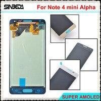 Sinbeda Super AMOLED HD 4 7 LCD Screen For Samsung Note 4 Mini Alpha G850F G850M