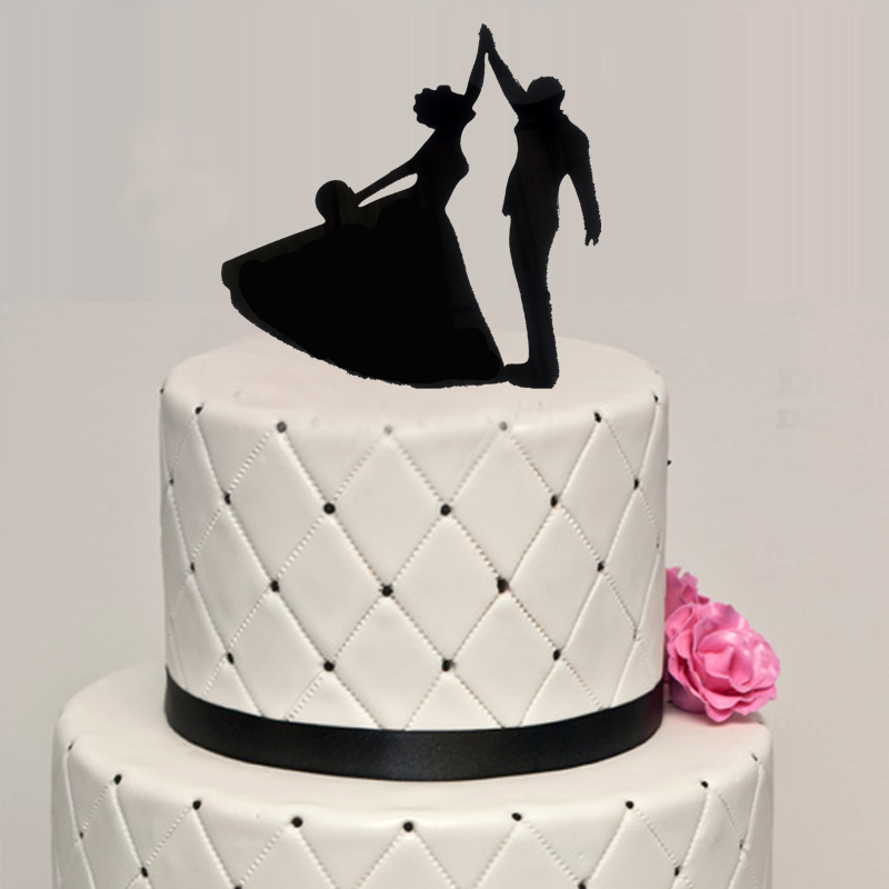 Wedding Acrylic Dancing Cake Topper Wedding Party Decorating Cake     Wedding Acrylic Dancing Cake Topper Wedding Party Decorating Cake Topper  OH006 in Cake Decorating Supplies from Home   Garden on Aliexpress com    Alibaba