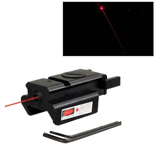 Тактический Airsoft Глок Low Profile Red Dot Лазерный Прицел Прицел с Горы Аллен ключи Пикатинни Для Пистолета Glk 20 мм железнодорожных