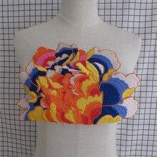 1 шт. распродажа тканевая вышитая Venise кружевная горловина Воротник Украшение шитье блузка с аппликацией планки швейные принадлежности для выбора
