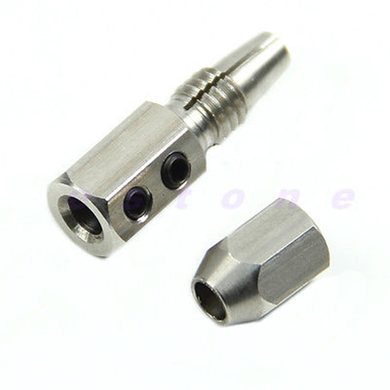 Stainless Steel Flex Collet Coupler For 5mm Motor Shaft And 4mm Cable RC Boat
