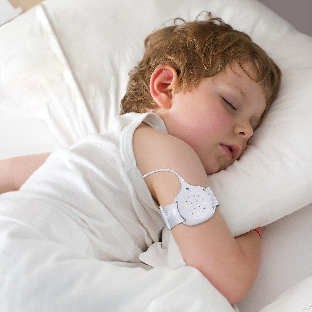 Smart Newborn Bedwetting Alarm Good Baby Urine Reminder Small Kids Wet Diaper Alarm Children's Wet Reminders Wholesaler Free