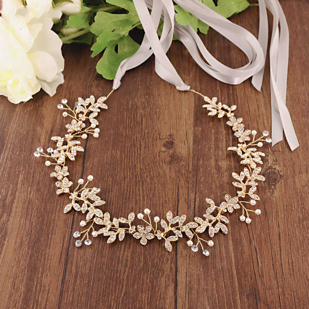 Noble Bridal Belts With Rhinestone Wedding Sash Belt Flowers Wedding Accessories Thin Belts For Women Girl Party Night Dress