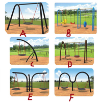 amusement swing playground par,garden swing for kids/adults,outdoor toys swing,garden furniture