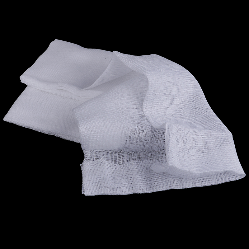 White 1.5 Yard <font><b>Cheese</b></font> <font><b>Cloth</b></font> Bleached Gauze Cheesecloth <font><b>Fabric</b></font> Muslin Kitchen Cooking Tools Width 23.5cm image
