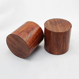 Image 1 - 4PCS Rosewood HiFi Audio Speakers Amplifier Chassis Anti shock Shock Absorber Foot Feet Pads Vibration Absorption Stands 45*45mm