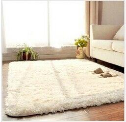 Épais 4.5 cm chaud anti-dérapant tapis et tapis pour salon chambre plancher personnalisé Shaggy chambre tapis