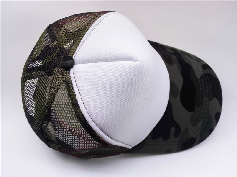 75fe2139ee4 Summer Adult Mesh Sport Trucker Hats Camo Army Green Blank Men s Baseball  Caps 5 panels Snapback Hats Casquette Gorras Visor-in Baseball Caps from  Apparel ...
