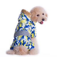 Warm Winter Dog Coat Private Army Camo Pattern Pet Dog Winter Clothes Super Keep Warm Fleece