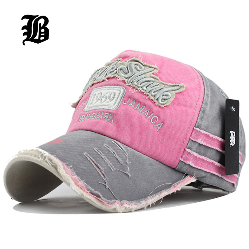Fashion Snapback Hats Fitted-Hat Baseball-Cap Cotton Women FLB Spring for Apparel Apparel