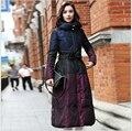 2017 Korean Style New Fashion Women Winter Coat Elegant Slim Leisure Big yards Down jacket Thick Super Warm Duck down Coat G2292