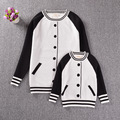 Family Clothing  Sweater jacket Mother Daughter son Clothes Family Look Girl and Mother Baby Parent-child Outfit BOBO CHOSES