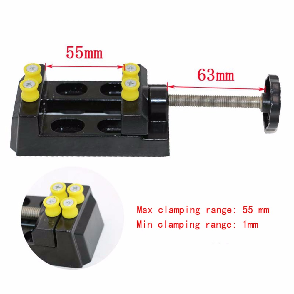 Adjustable Mini Diy Vise Table Bench Vise Clamp Drill