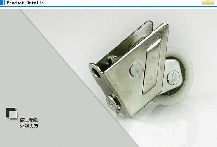 828 тип двери из алюминиевого сплава и windowssingle круглый нержавеющая сталь шарикоподшипник подвижные колеса