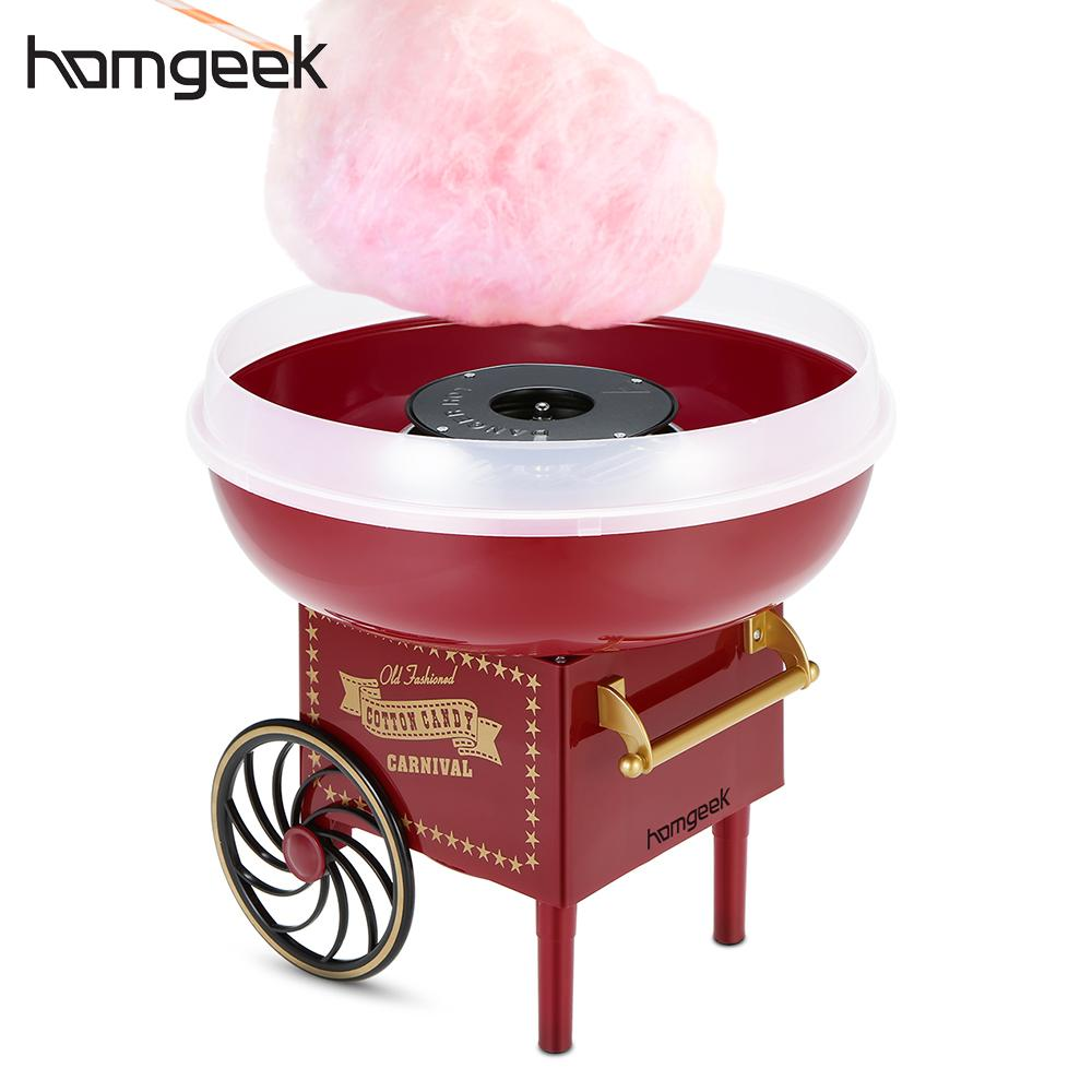 homgeek mini retro automatic cotton candy machine. Black Bedroom Furniture Sets. Home Design Ideas