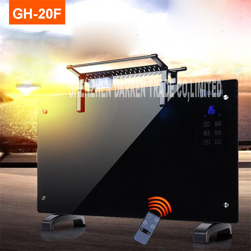 Homeleader Convector Heater Infrared Heater Freestanding Waterproof Heater Electric Heater Infrared Panel of High Quality GH-20F freestanding houses