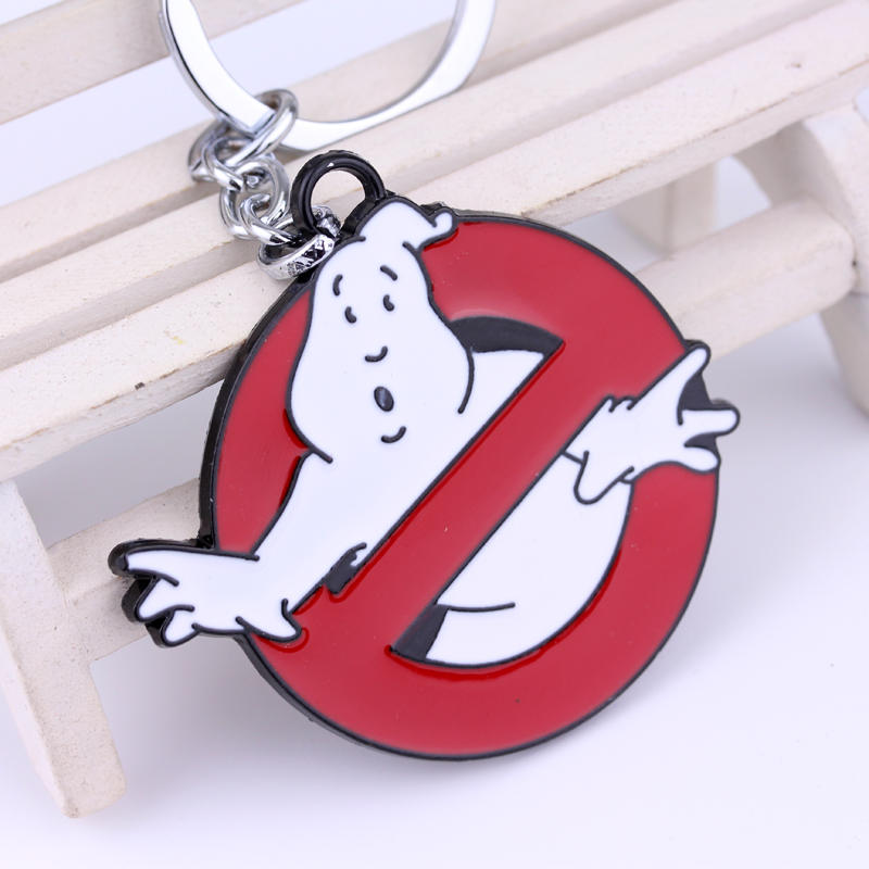 Image 3 - Wholesale Ghostbusters Key Chain Hot Movie Key Rings Chaveiro Car Keychain Jewelry Game Key Holder Souvenir  High Quality Gift-in Key Chains from Jewelry & Accessories