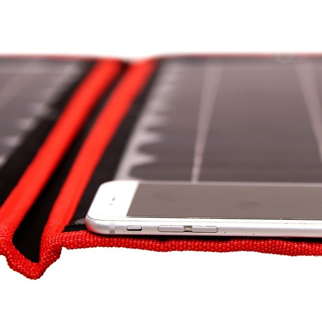 18V 100w Solar Panel 12V Flexible Foldble Solar Charge mobile phone usb Outdoor Solar Panels For camping/Boats/Home