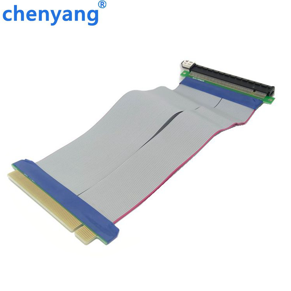 20cm PCI-E 16X Male to Female Riser Card Adapter Extender Cable PCI E 16 X Pci Express Flexible Riser for Video card computer