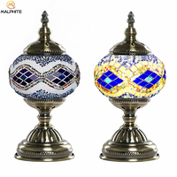 Turkish Table Lamp Living Standing Lamp Modern Interior Decoration Stained Glass Table Light Nordic Bedroom Lighting Luminaires