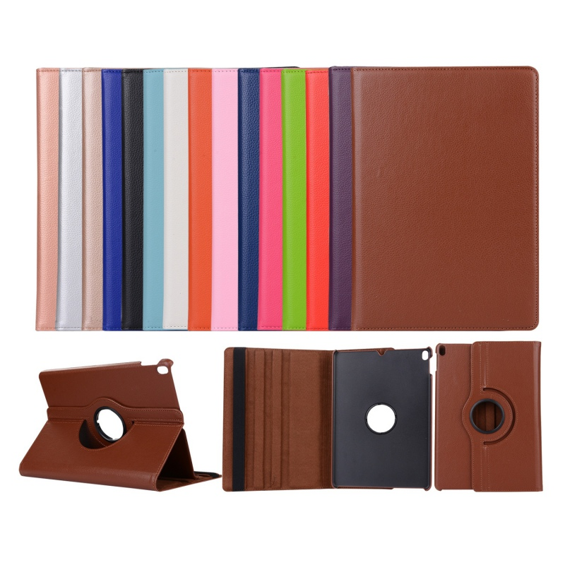 Portable 360 Degree Rotating Case For Apple iPad 9.7 2017/2018/air/air2 Case Cover Tablet PU Leather Stand