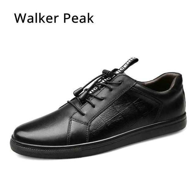 Brand 2018 New arrival Fashion Mens Casual Shoes Black Colors Breathable Men Flats Shoes Luxury Sneakers Shoes For Mens