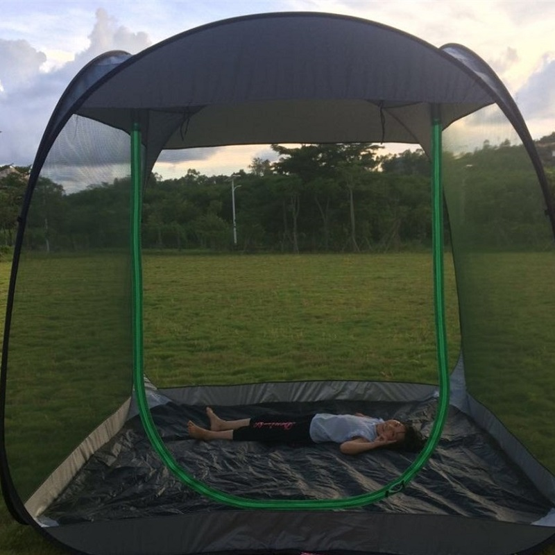 Ultralight Outdoor Mosquito Net Garden Tent Sun Shelter Summer 6 10 people Breathable Gauze tent Anti Mosquito tent-in Tents from Sports & Entertainment    3