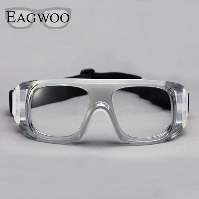 ded7eabc17 Eagwoo Adult outdoor sports basketball football glasses volleyball tennis  eyewear glasses goggles myopic lens mirror frame