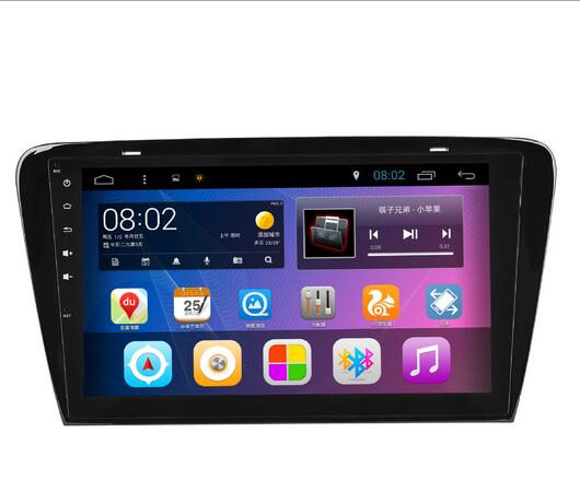 10.1 Quad Core Android 7.1 Car GPS radio Navigation for Skoda Octavia Laura 2013 2016 with 4G/Wifi, DVR OBD 1080P