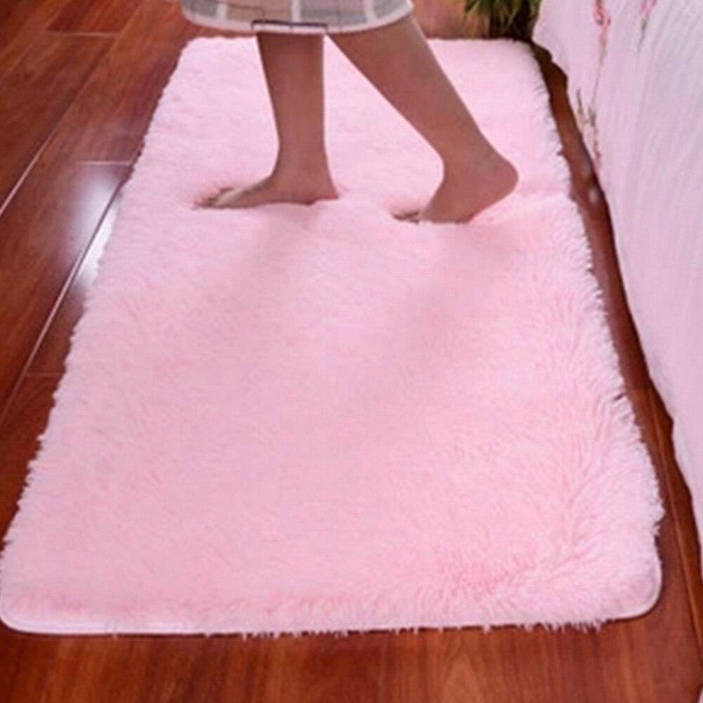 Large Size Plush Shaggy Soft Carpet Area Rugs Slip Resistant Floor