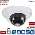 H.264/265 HD 3MP IP Camera Onvif Outdoor Indoor CCTV Security Wide Angle 2.8mm Len option POE IP Camera 3MP For Office,Home etc