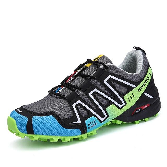 2019 New Men's outdoor hiking shoes Trekking Tourism Boots Non-slip shoes Climbing Mountain Sport Shoes Walking Sneakers